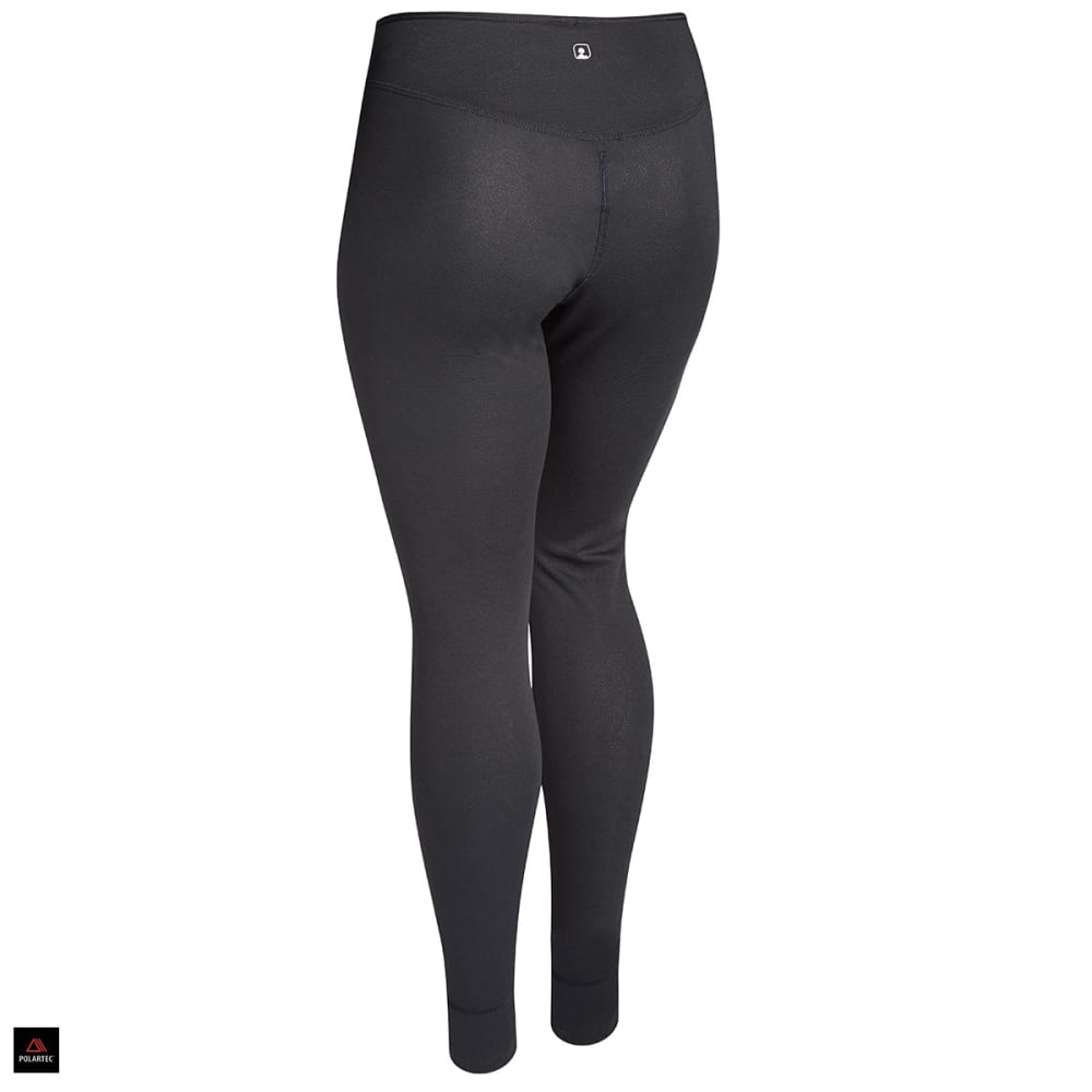 EMS® Women's Techwick® Midweight Baselayer Tights  - JET BLACK