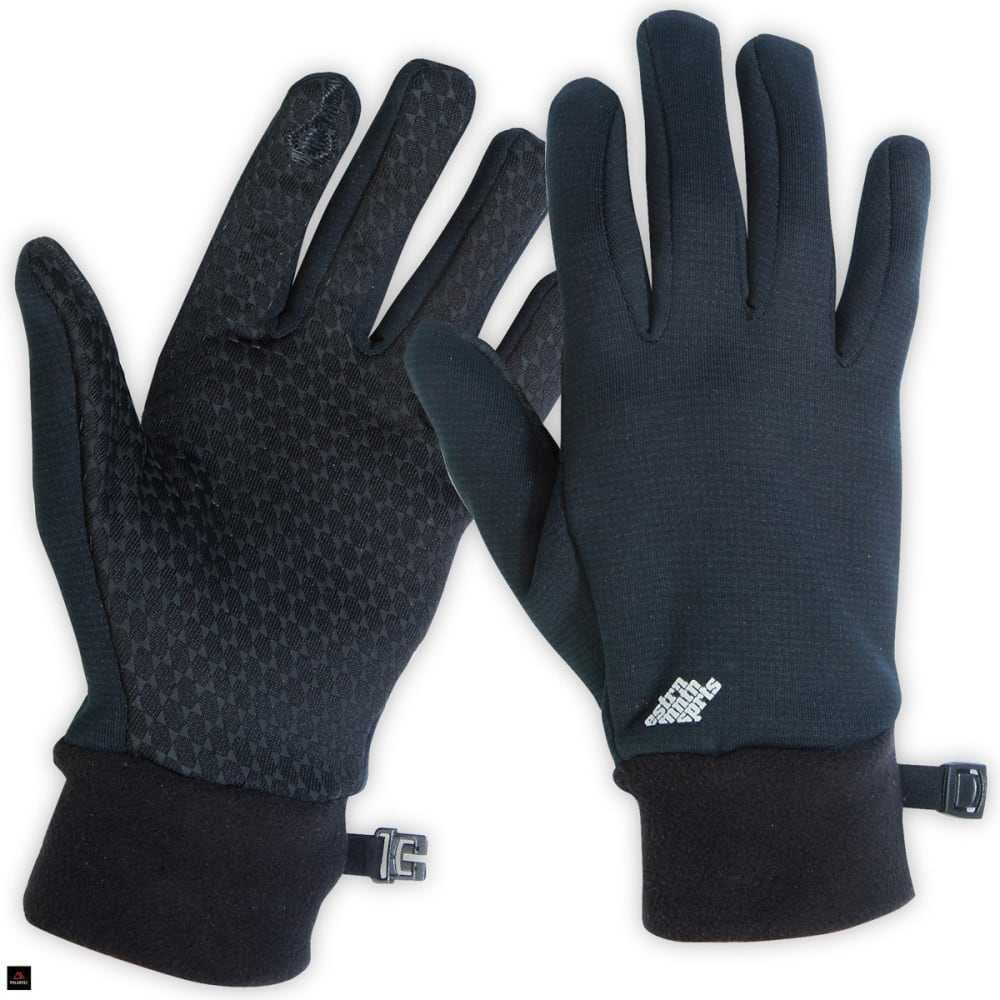 EMS Women's Wind Pro Touchscreen Gloves - BLACK
