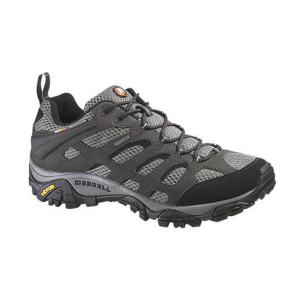 MERRELL Men's Moab GTX Hiking Shoes, Beluga - BELUGA