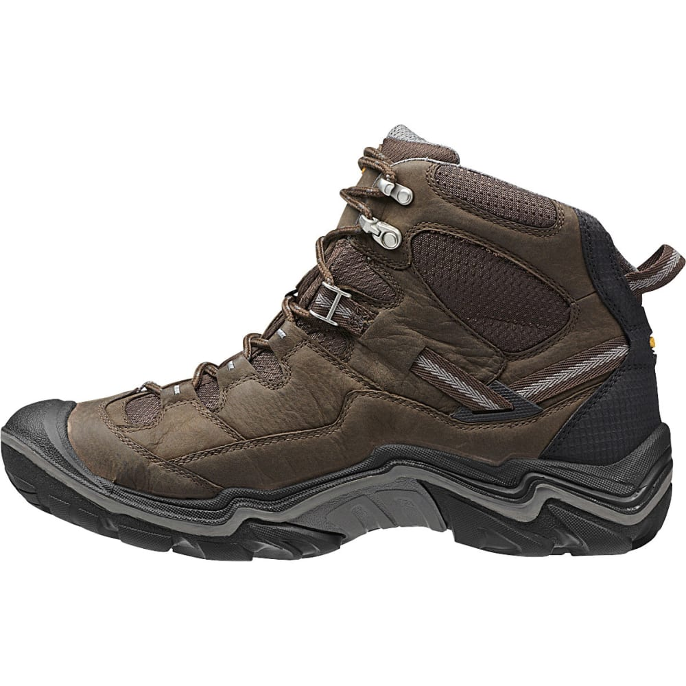 KEEN Men's Durand Mid WP Hiking Boots - BROWN