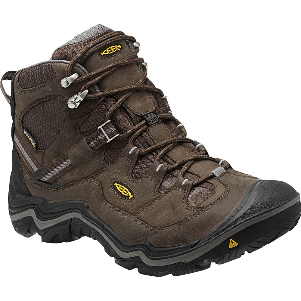 Keen Men's Durand Mid Wp Hiking Boots - Brown, 8