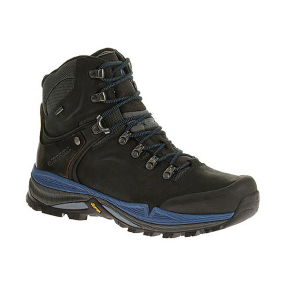 MERRELL Men's Crestbound GTX Backpacking Boots - BLACK/BLUE