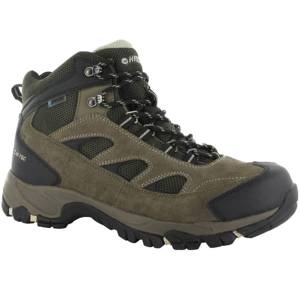 HI-TEC Men's Logan Waterproof Boots - SMKY BROWN/OLIV/SNOW