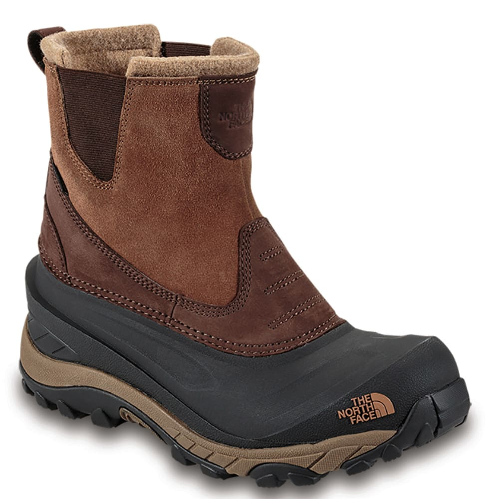 THE NORTH FACE Men's Chilkat II Pull-On Winter Boots, Brown - BROWN
