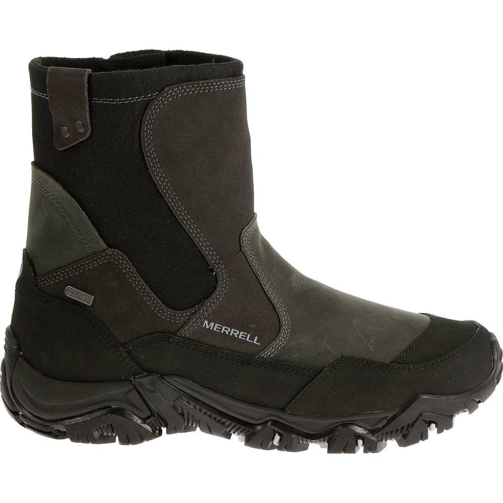 MERRELL Men's Polarand Rove Zip Waterproof Boots, Castle Rock - CASTLE ROCK