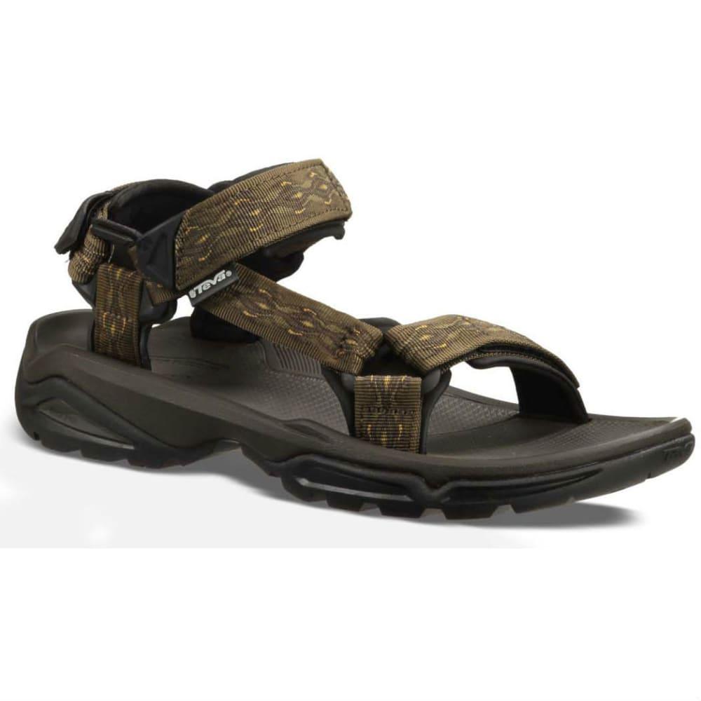 TEVA Men's Terra Fi 4 Sandals, Madang Olive 8