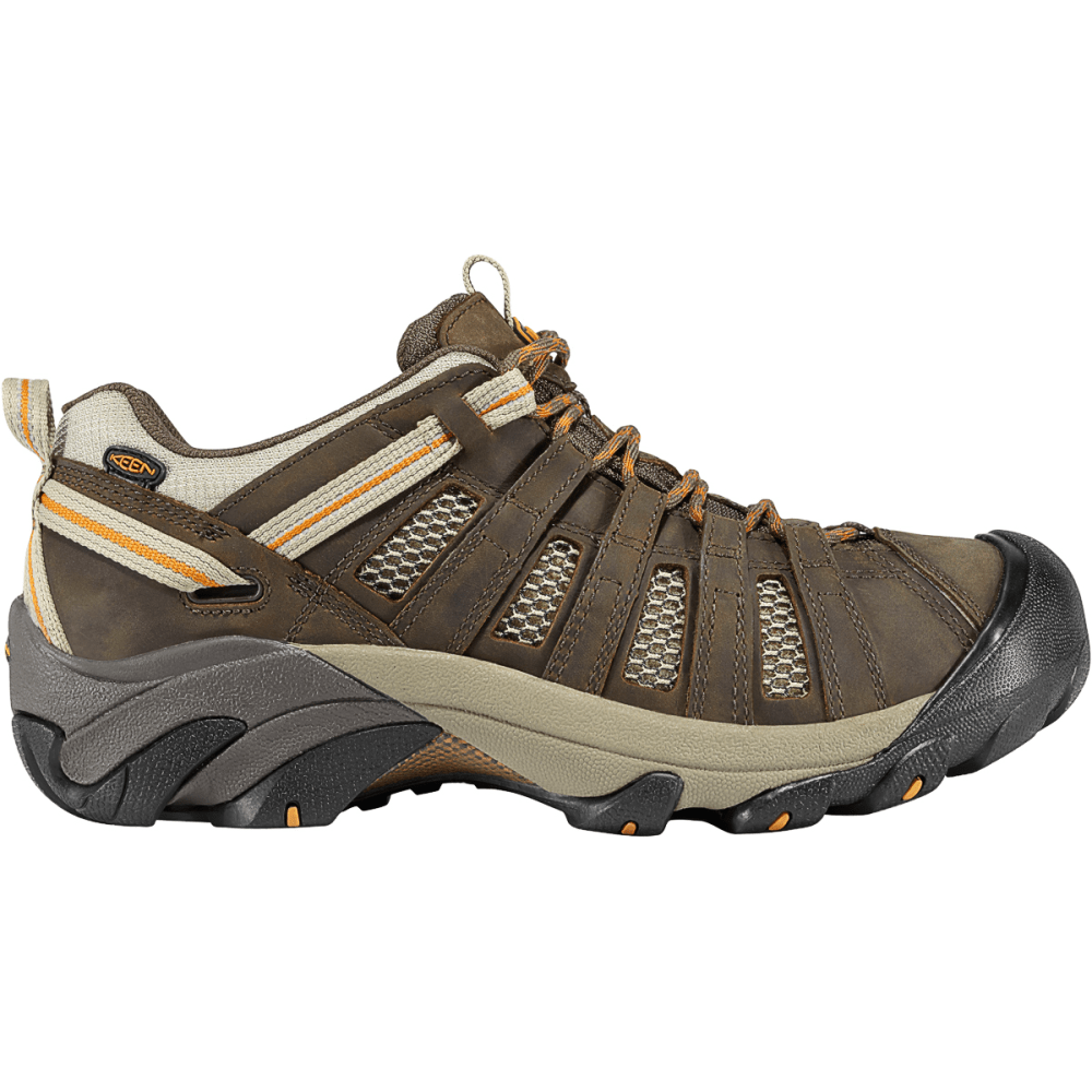 KEEN Men's Voyageur Hiking Shoes - BLACK OLIVE