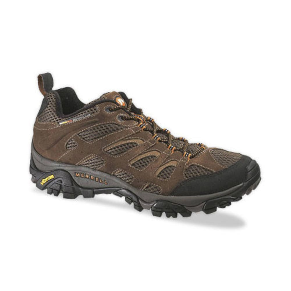 MERRELL Men's Moab Ventilator Hiking Shoes, Earth - EARTH