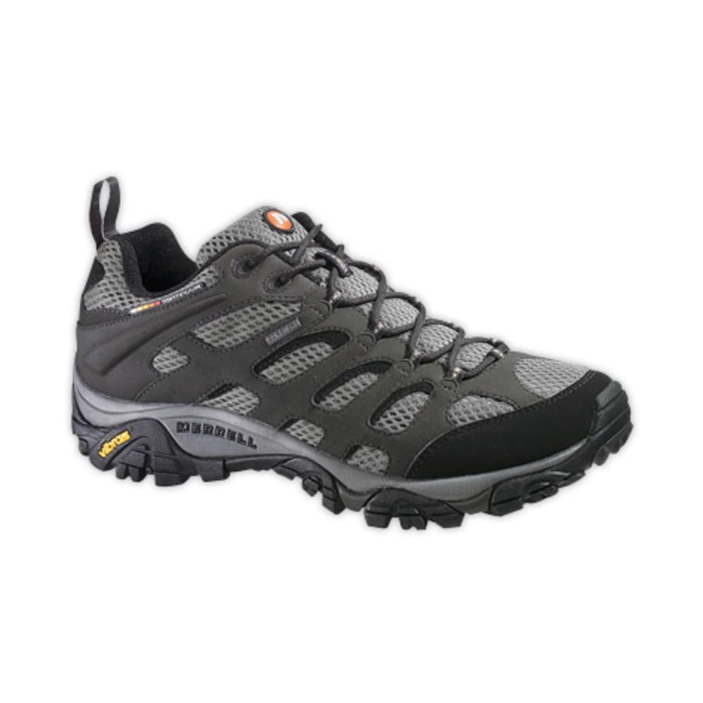 MERRELL Men's Moab GTX Hiking Shoes,Wide - BELUGA