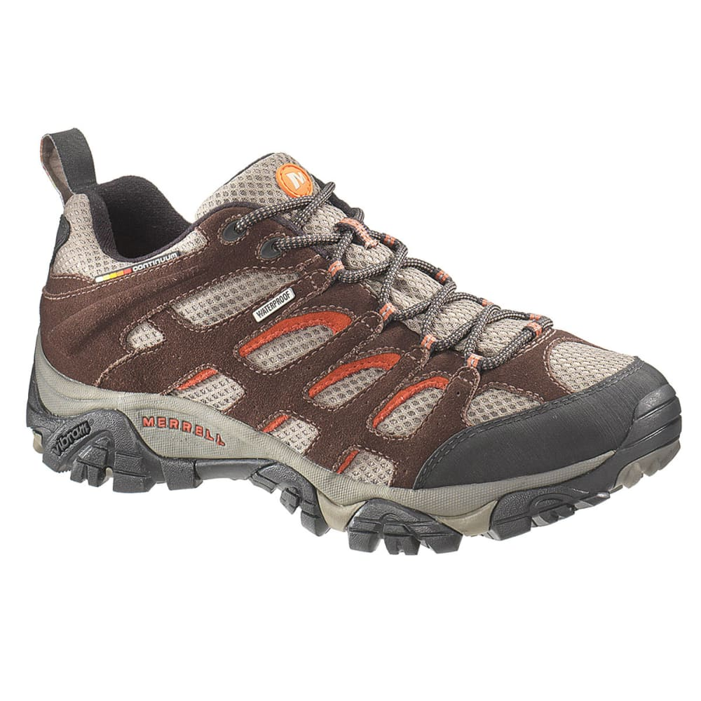 MERRELL Men's Moab WP Hiking Shoes, Espresso - ESPRESSO