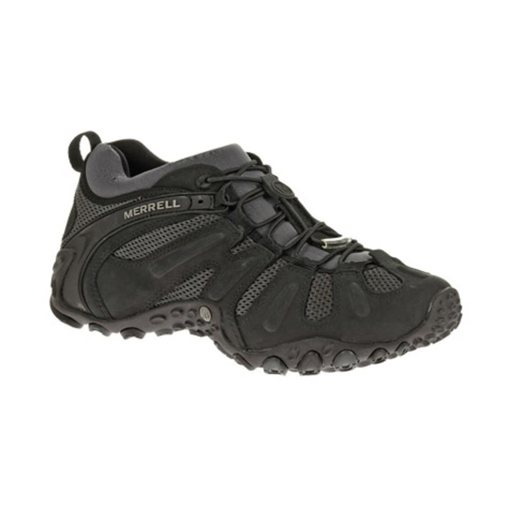 MERRELL Men's Chameleon Prime Stretch Hiking Shoes, Black - BLACK