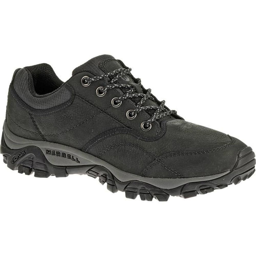 MERRELL Men's Moab Rover Shoes, Black, Wide - BLACK