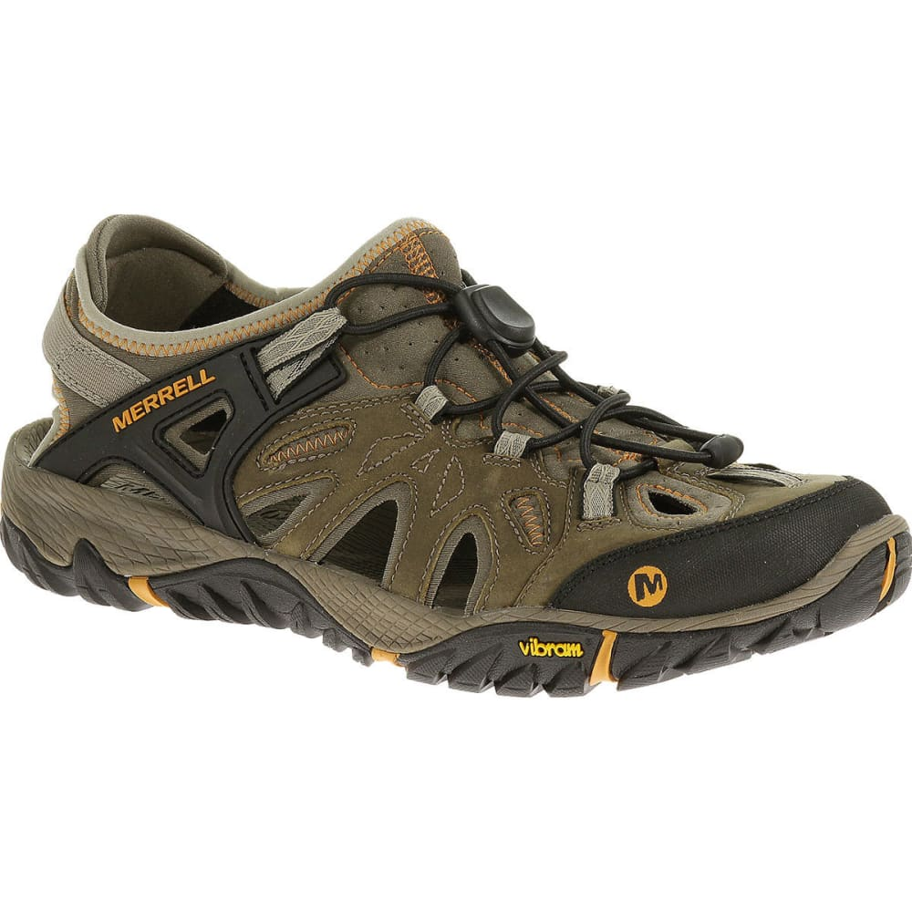 MERRELL Men's All Out Blaze Sieve Shoes - BRINDLE/BUTTERSCOTCH