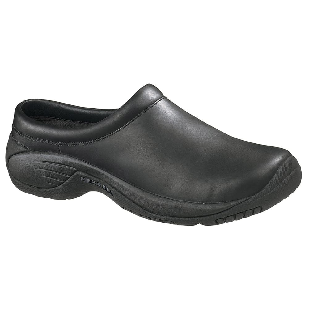 MERRELL Men's Encore Gust Shoes, Smooth Black - SMOOTH BLACK
