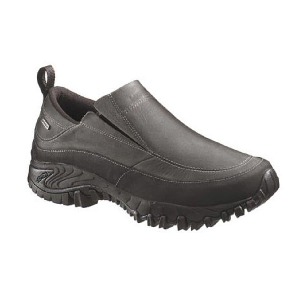 MERRELL Men's Shiver Moc 2 WP Shoes, Black - BLACK