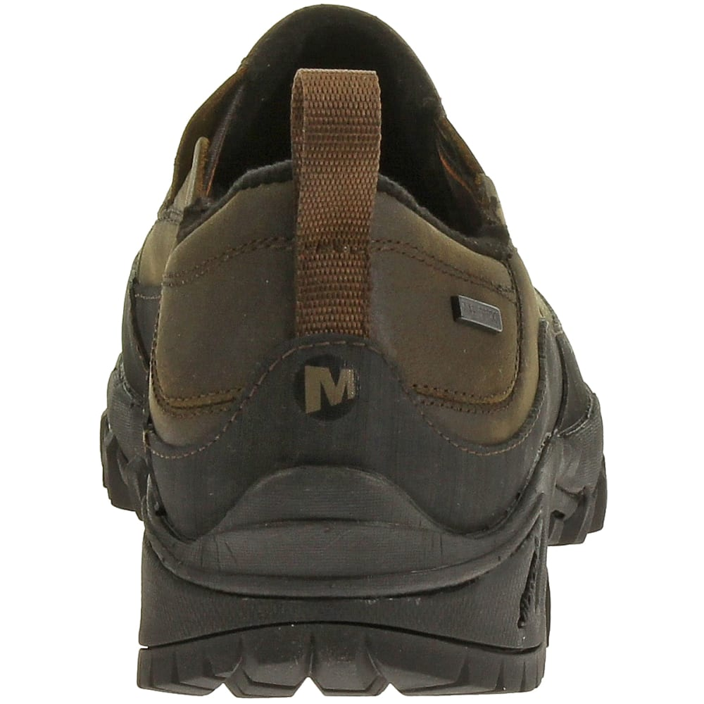 MERRELL Men's Shiver Moc 2 WP Shoes, Dark Earth - DARK EARTH