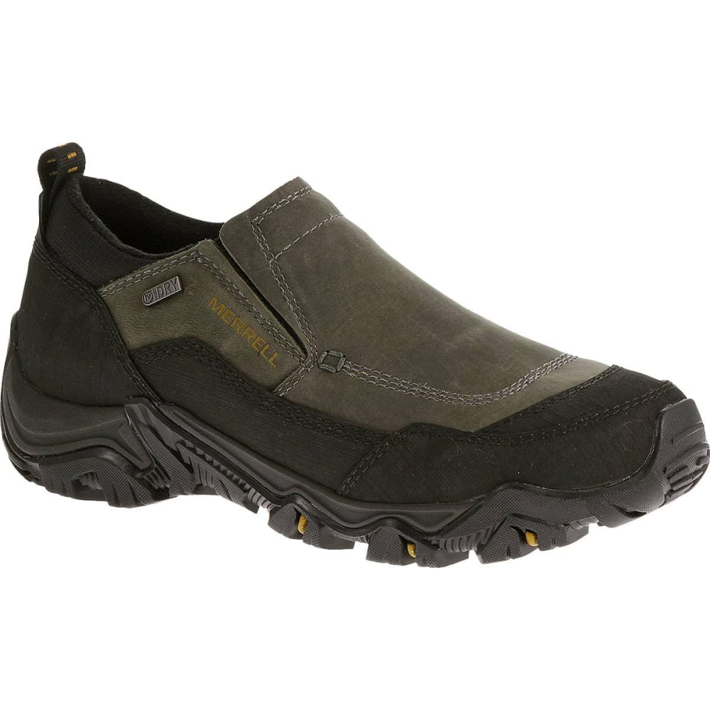 MERRELL Men's Polarand Rove Moc Waterproof Shoes - CASTLE ROCK