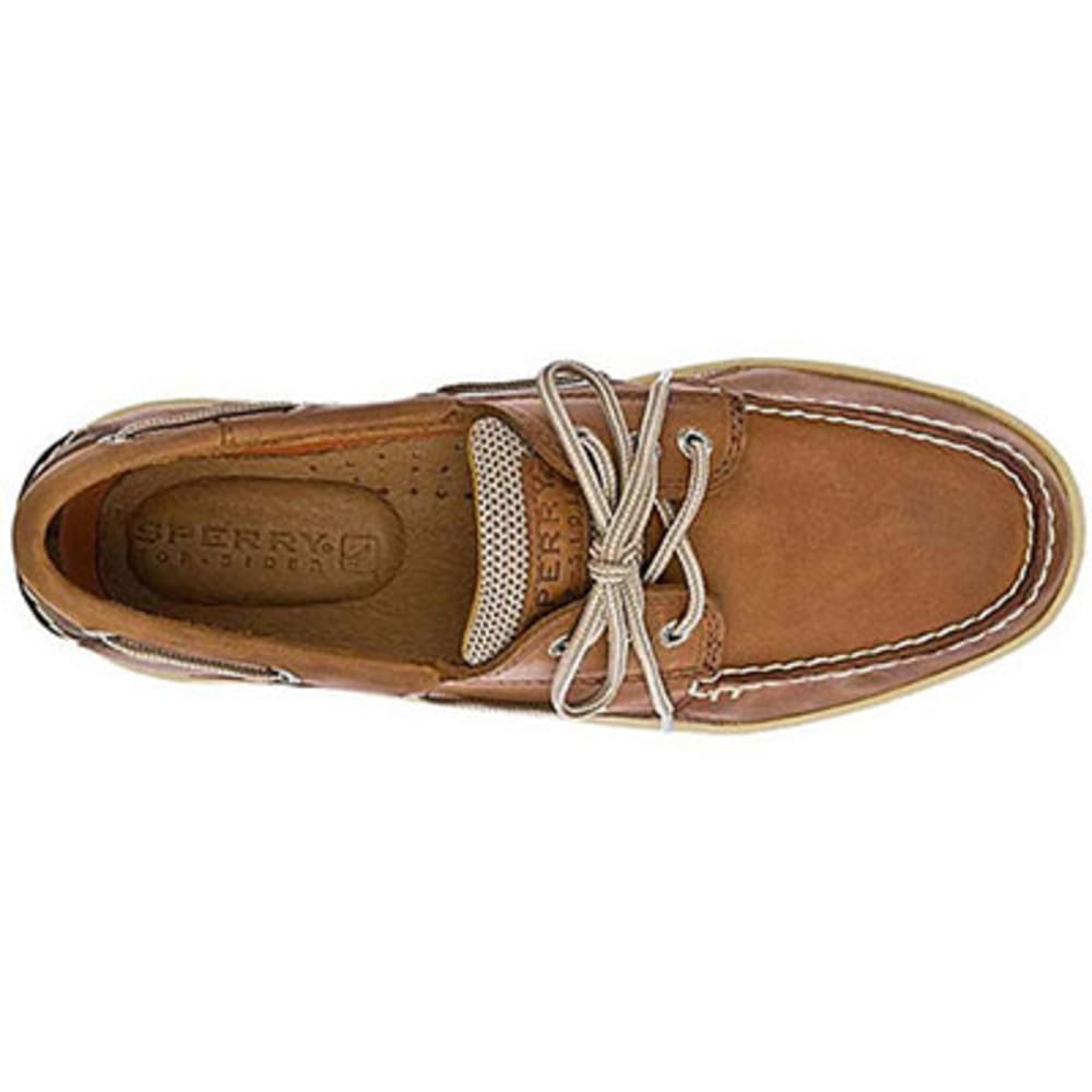 SPERRY Men's Billfish 3-Eye Boat Shoes - DARK TAN
