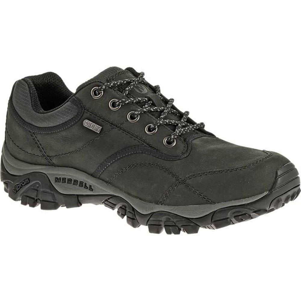 MERRELL Men's Moab Rover Waterproof Shoes, Black, Wide - BLACK