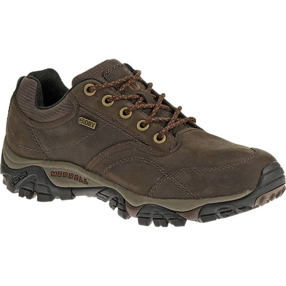 MERRELL Men's Moab Rover Waterproof Shoes, Espresso, Wide - ESPRESSO