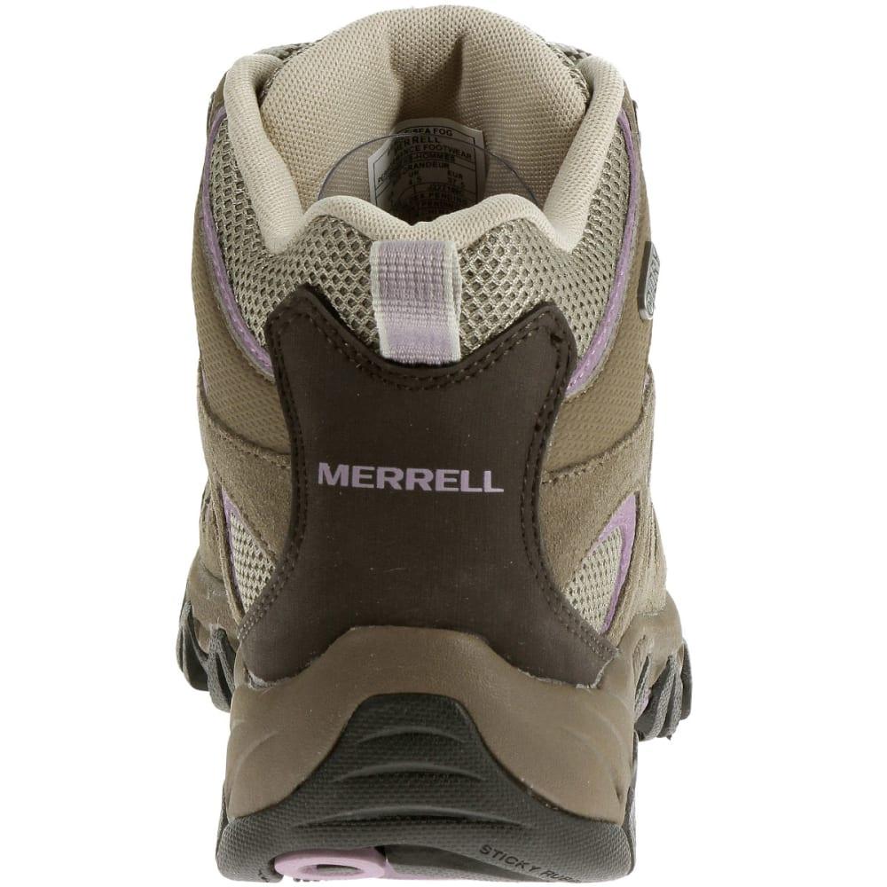 MERRELL Women's Ridgepass Mid WP Hiking Boots - BRINDLE