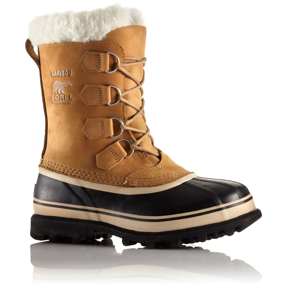 SOREL Women's Caribou Winter Boots - BUFF