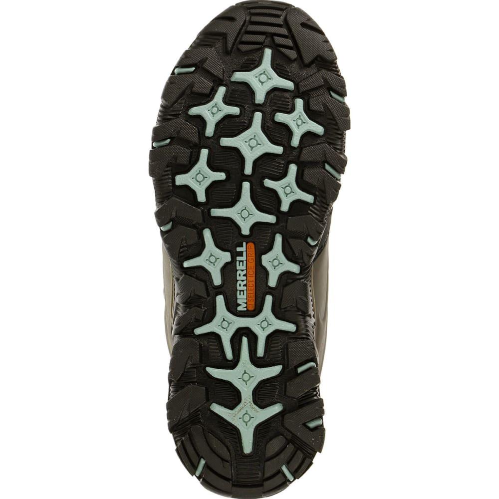 MERRELL Women's Polarand 8 Waterproof Hiking Boots, Boulder - BOULDER