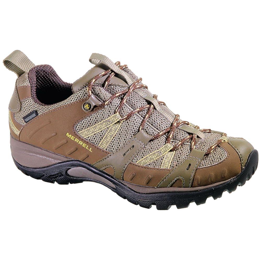 MERRELL Women's Siren Sport 2 WP Hiking Shoes, Brindle - BRINDLE