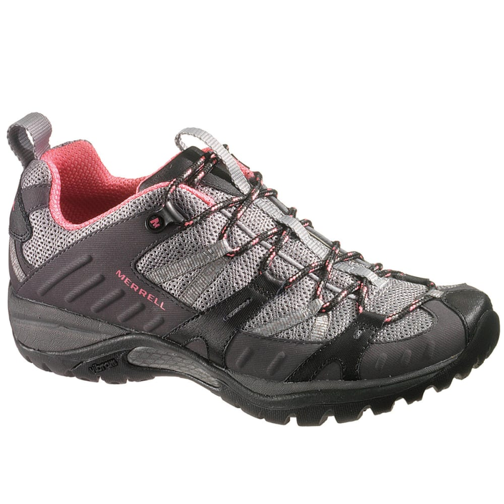 MERRELL Women's Siren Sport 2 Hiking Shoes, Black/Pink - BLACK/PINK