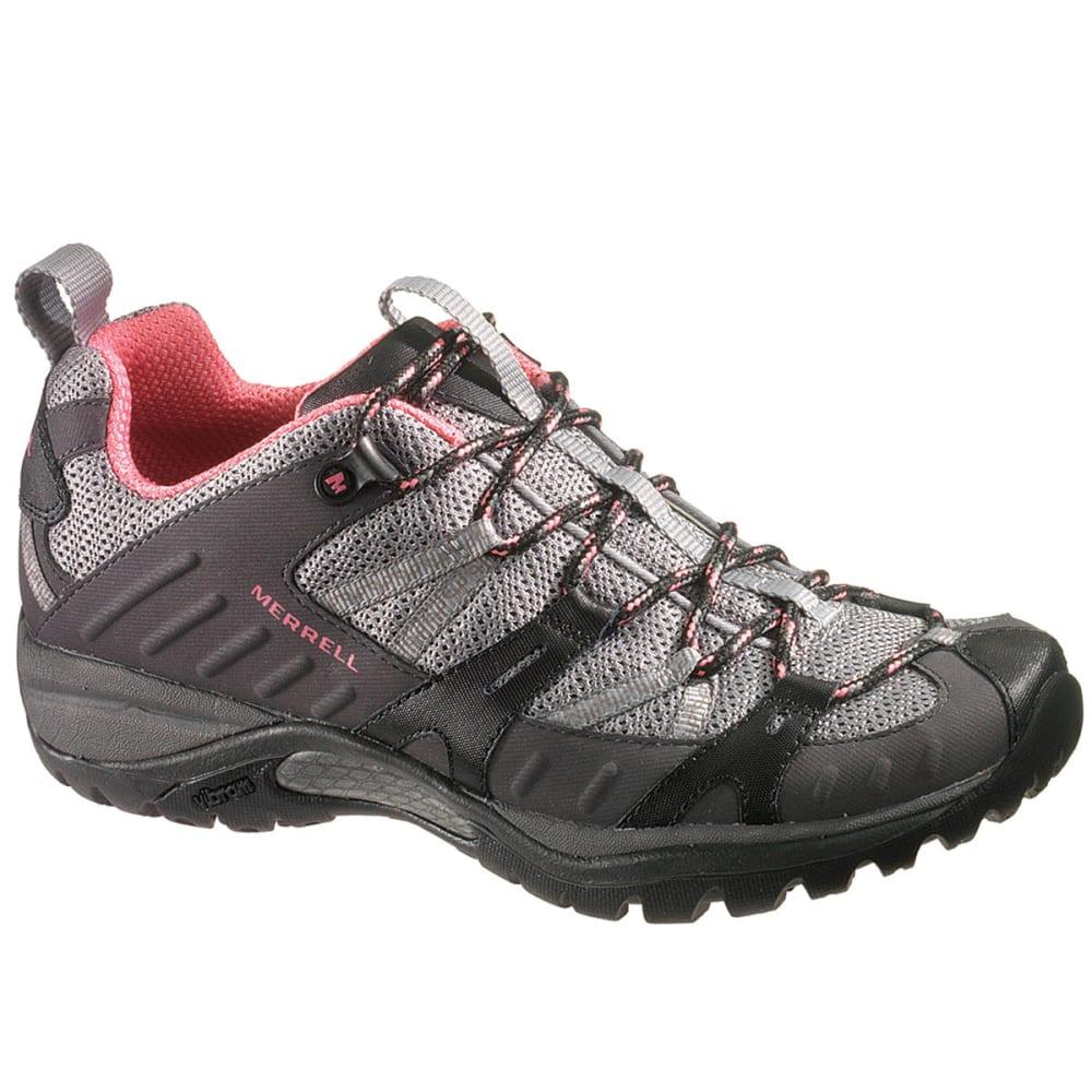 MERRELL Women's Siren Sport 2 Hiking Shoes, Black/Pink - BLACK/PINK