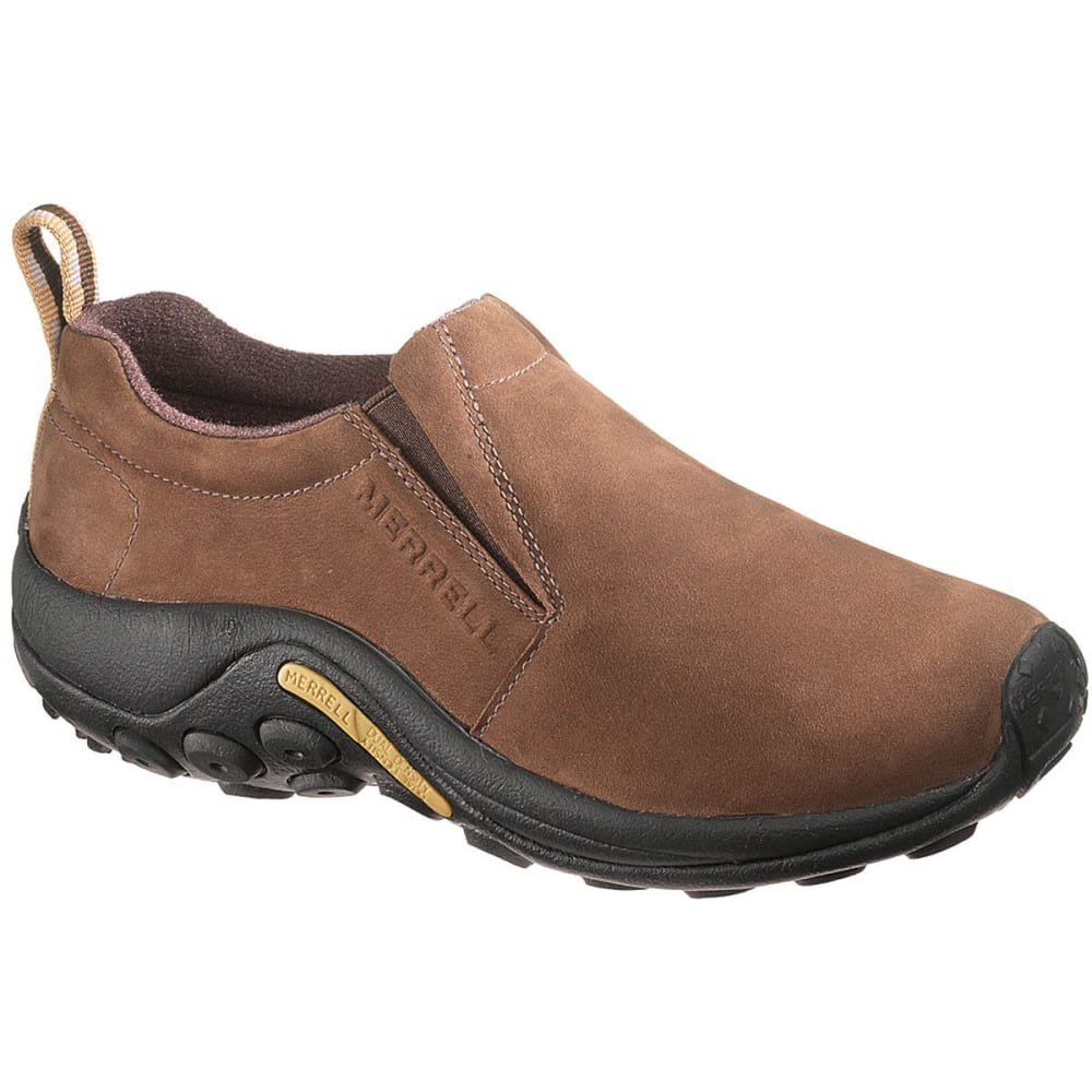 MERRELL Women's Jungle Moc Nubuck, Bracken - BRACKEN
