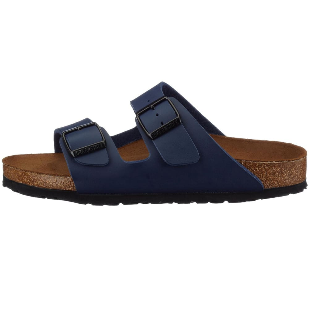 BIRKENSTOCK Women's Arizona Soft Sandals, Narrow, Navy - NAVY