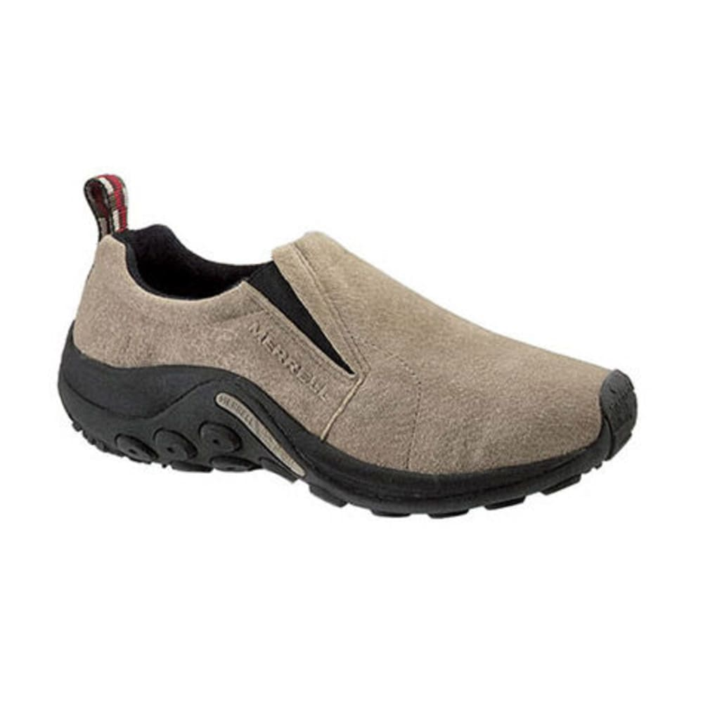 MERRELL Women's Jungle Moc Shoes, Classic Taupe - CLASSIC TAUPE