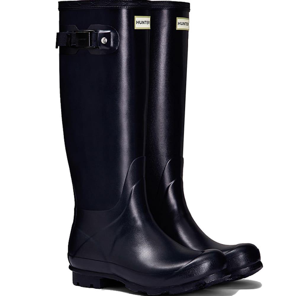 HUNTER Women's Norris Field Rain Boots - NAVY