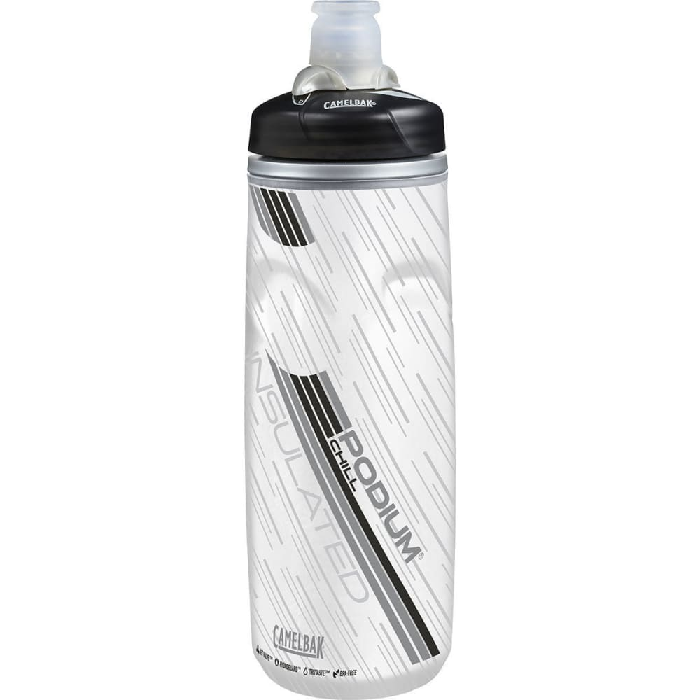 CAMELBAK Podium Chill Water Bottle, 21oz. - CARBON/52470