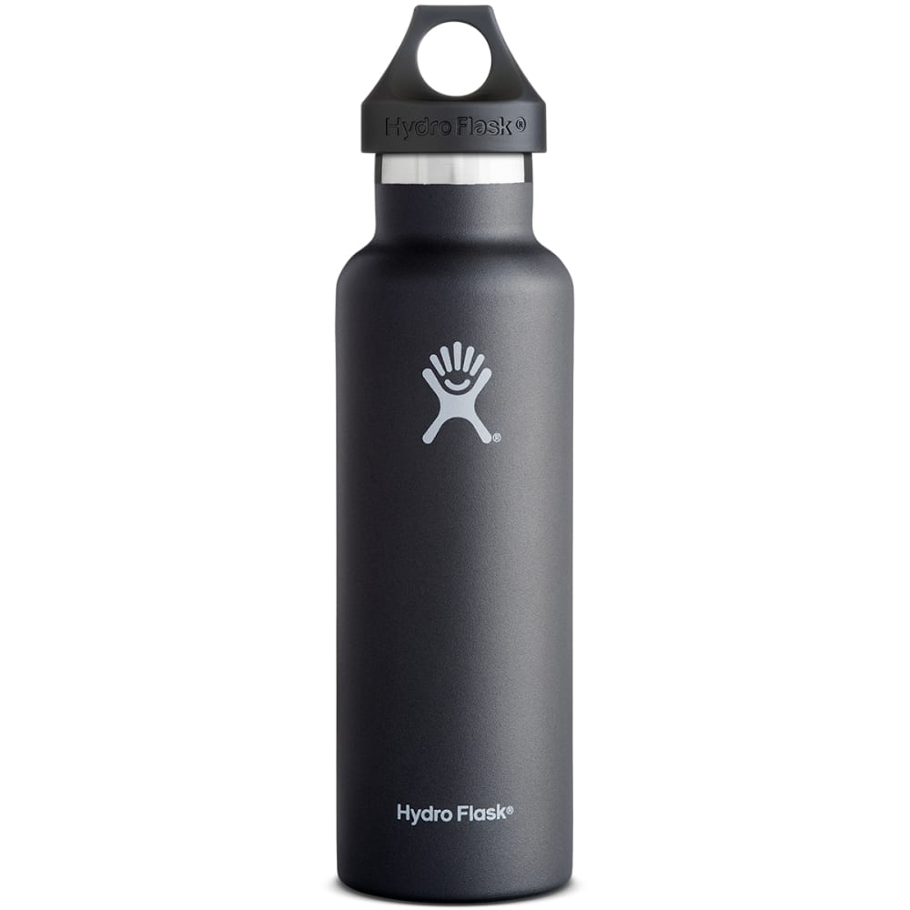 HYDRO FLASK Standard Water Bottle, 21 oz. - BLACK