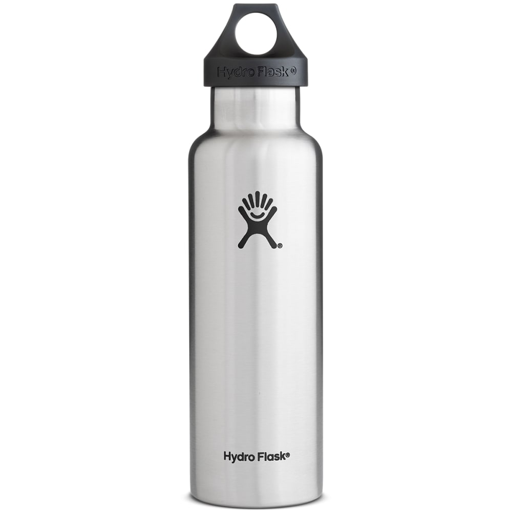 HYDRO FLASK Standard Water Bottle, 21 oz. - STAINLESS STEEL