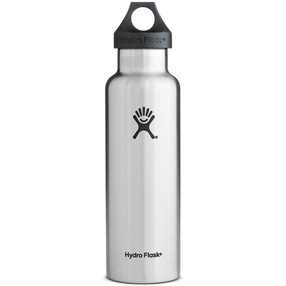 HYDRO FLASK Standard Water Bottle, 21 oz. - STAINLESS STEEL