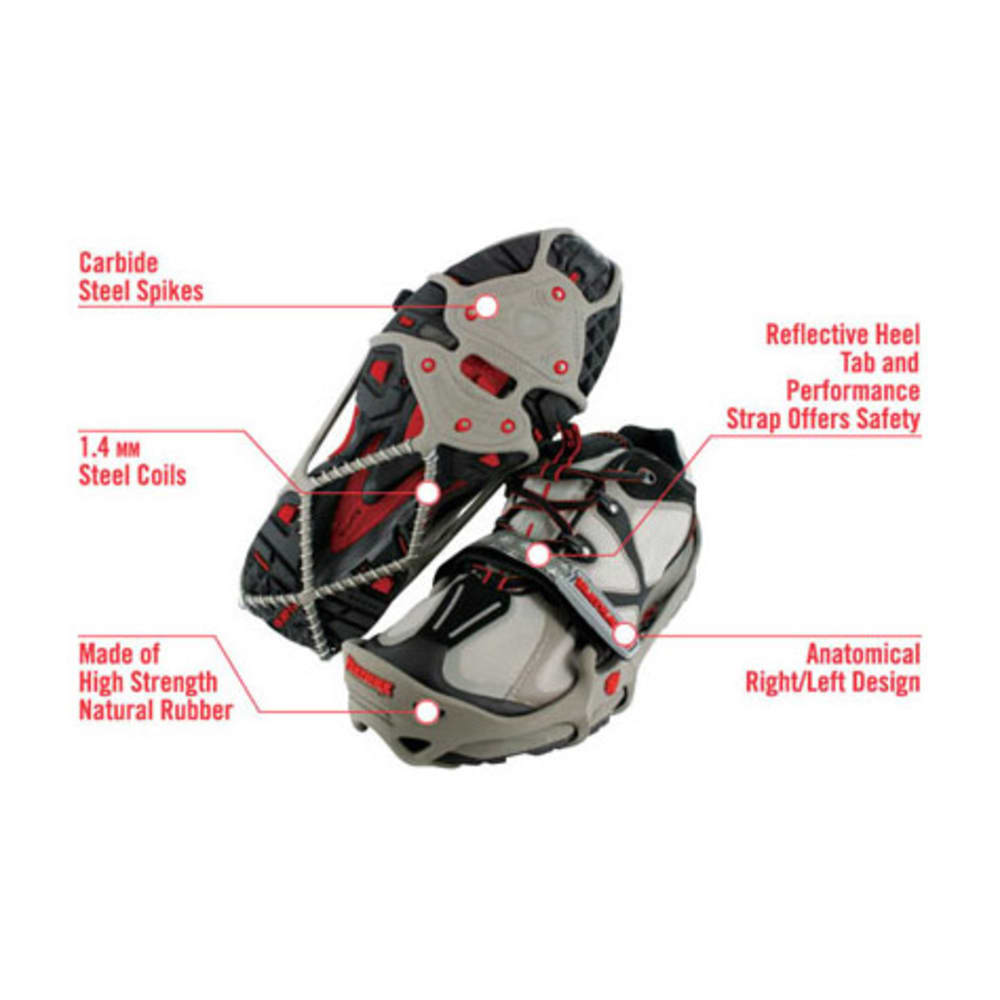 YAKTRAX Run Traction Systems - GRAY/RED