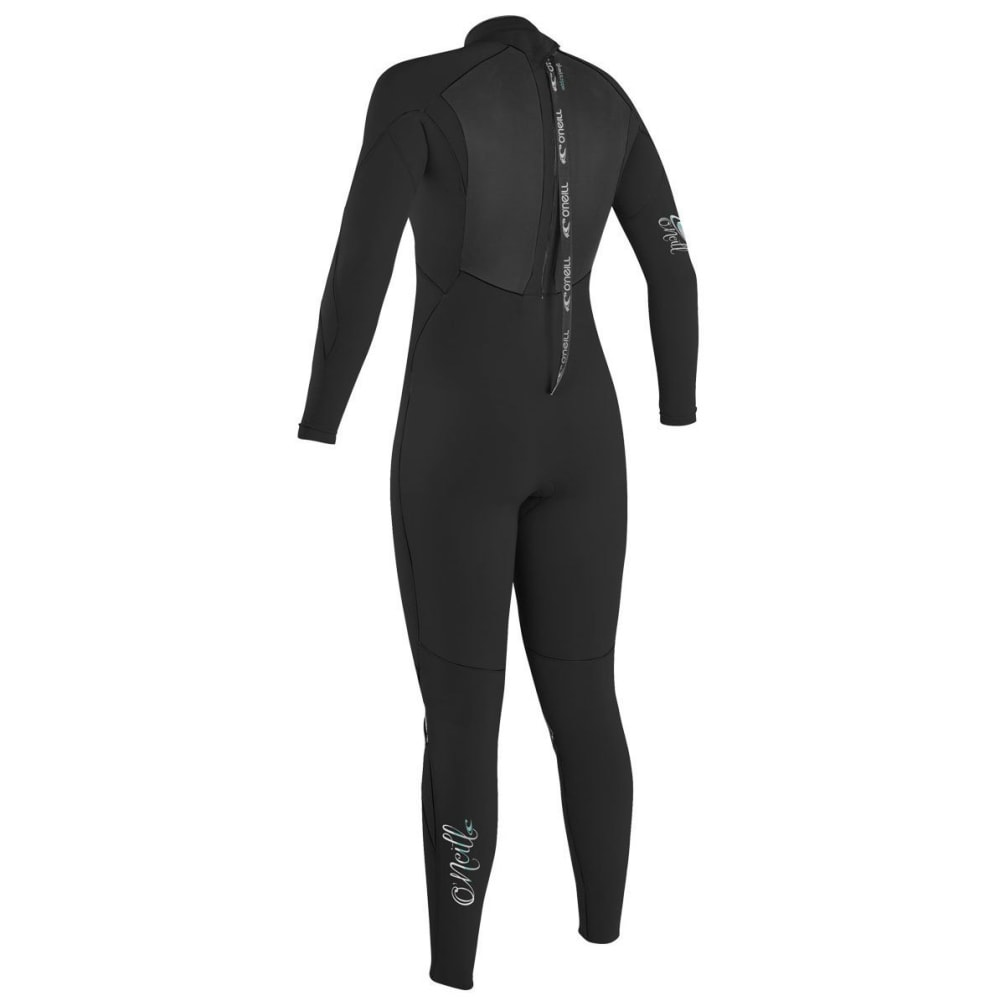 O'NEILL Women's Epic 3/2 Full Back-Zip Wetsuit - BLACK