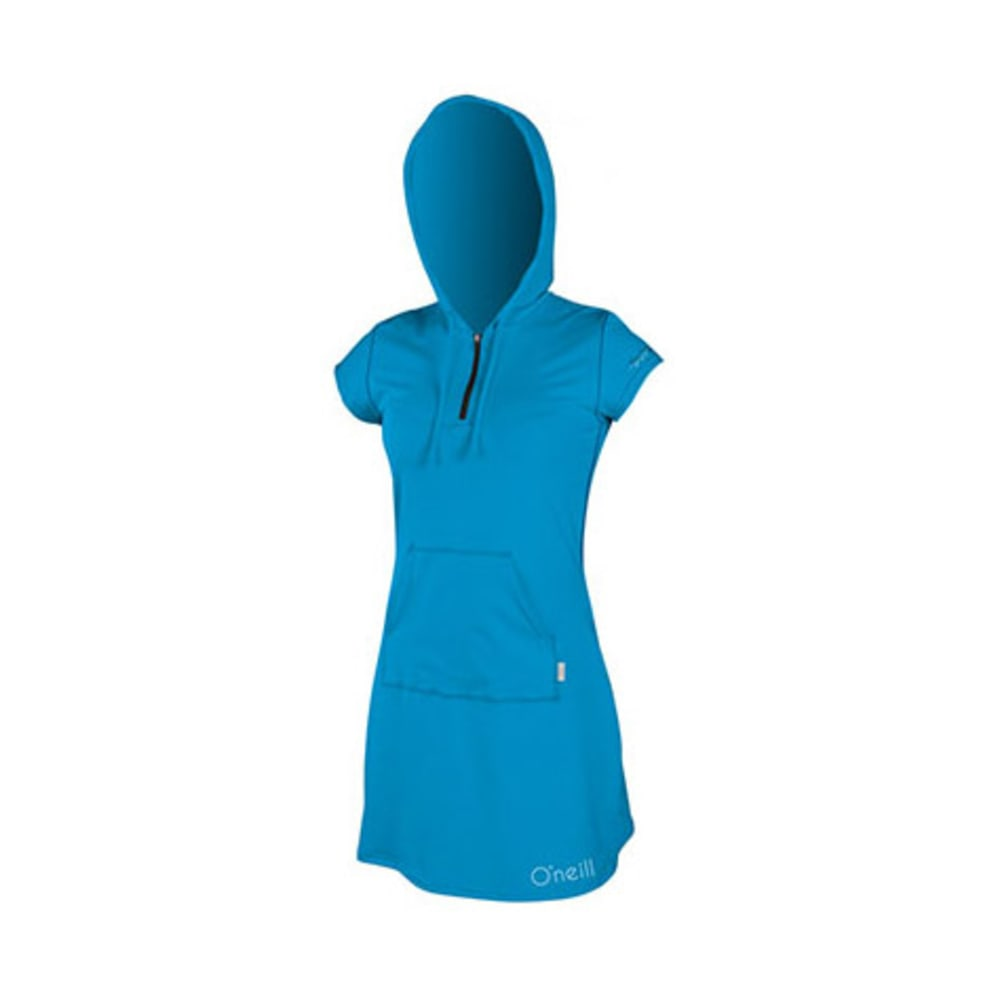 O'neill Women's Skins Hooded Cover-Up - Blue, S