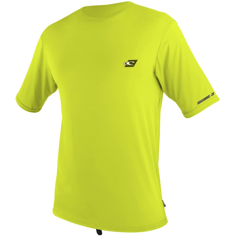 O'neill Men's Hyperfreak Rash Tee - Green, XL