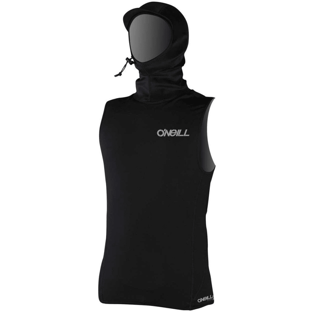 O'NEILL Men's Thermo-X Hooded Vest - BLACK