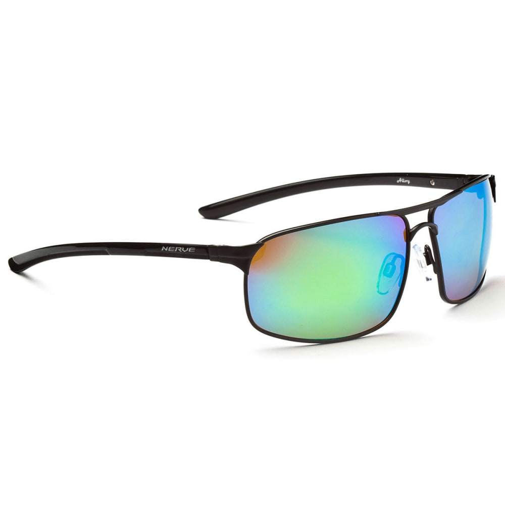OPTIC NERVE Alloy Sunglasses, Black - BLACK