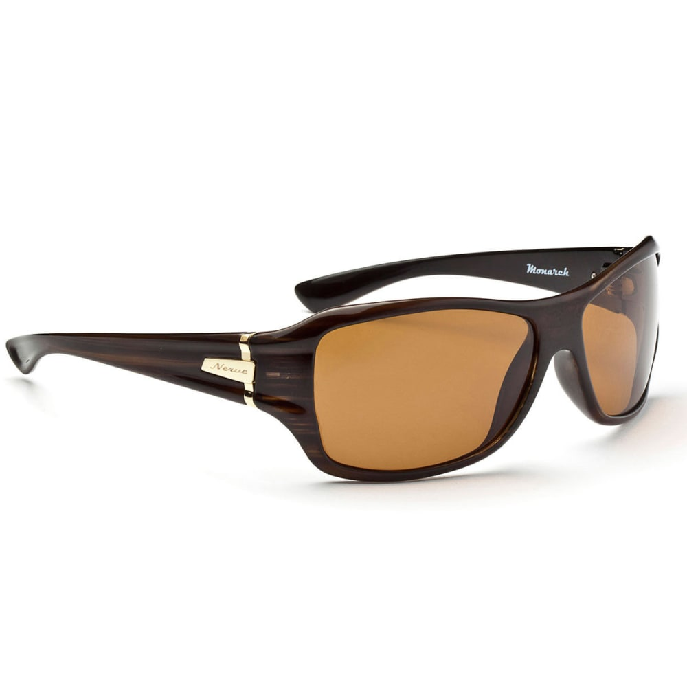OPTIC NERVE Monarch Sunglasses, Shiny Driftwood - NONE