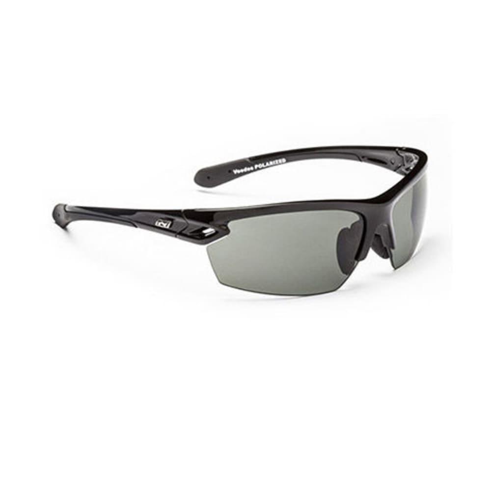 OPTIC NERVE Voodoo Sunglasses, Black - SHINY BLACK