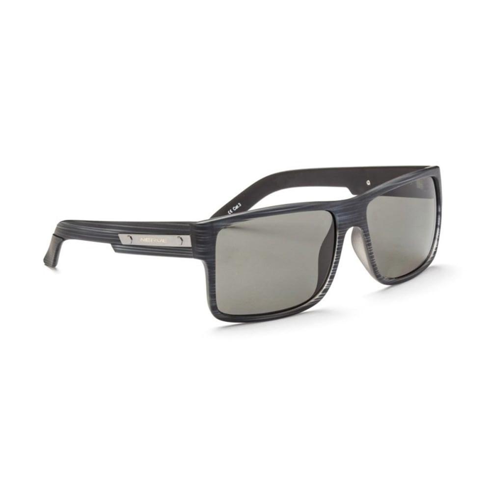 OPTIC NERVE Kincaid Sunglasses, Matte Driftwood Grey/Polarized Grey - MATTE DRIFTWOOD