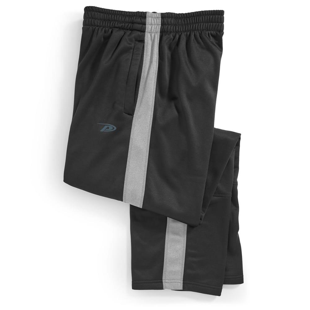 PRO PLAYER Men's Heather Tech Fleece Pants - BLACK/GREY-RGY