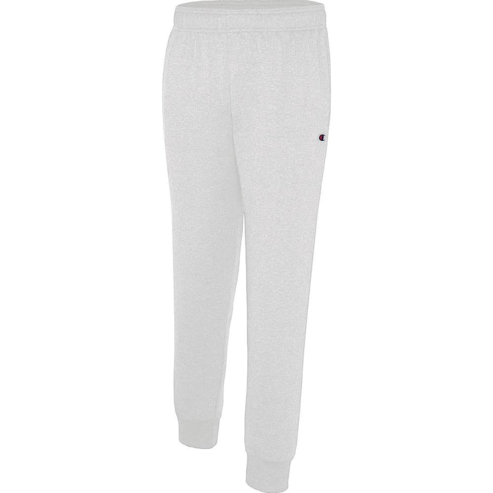 CHAMPION Men's Fleece Jogger Pants - SILVER GREY-017