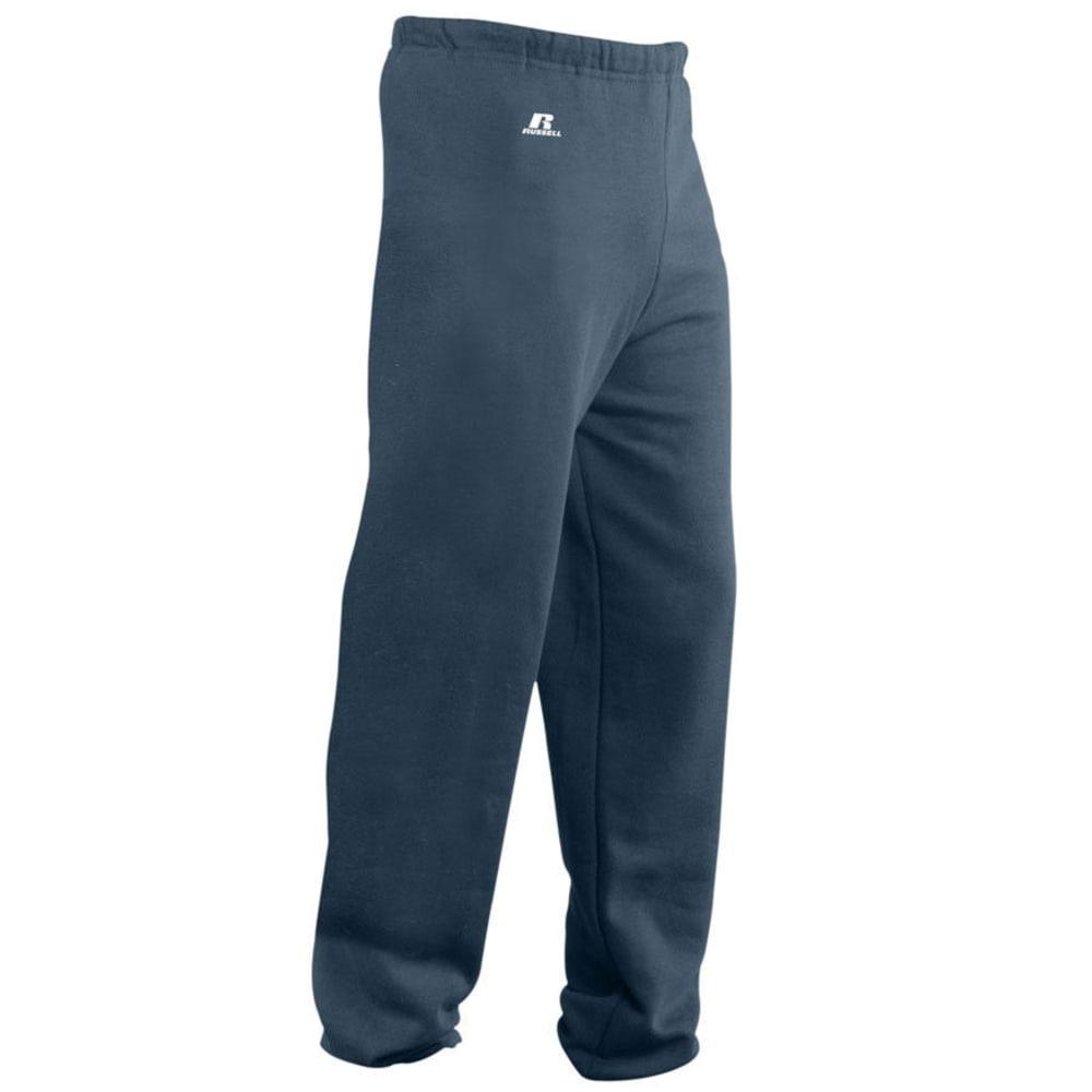 RUSSELL ATHLETICS Men's DriPower Fleece Pants - BLACK HEATHER-GW8